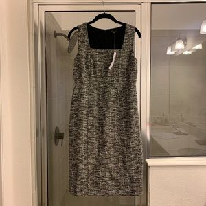 Ann Taylor grey business dress - size 2